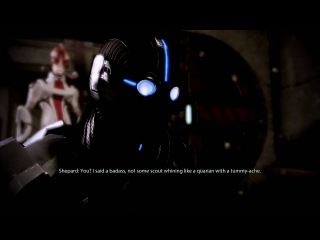 Mass Effect 2 HD: Tali gets owned (Special Dialogue)