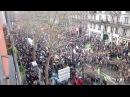 Kurden in Paris 100 000 Demonstranten demonstrieren gegen die Ermordung von 3 Kurdinnen 12 01 13