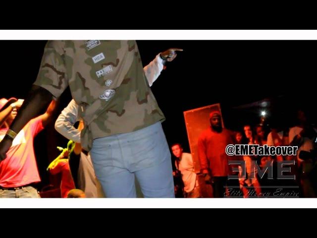 A$AP Mob исполняют на фестивале «Catalpa Music» такие треки как: «Bath Salt», «Pretty Flacko» (30/07/12)