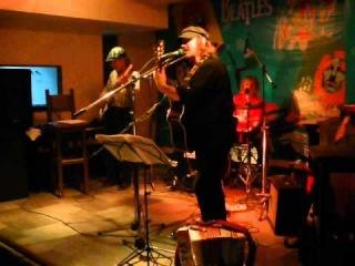 Zhenya Rock & Victor Kolesov (9.11.2012) pub Kilt show in Vologda (1)