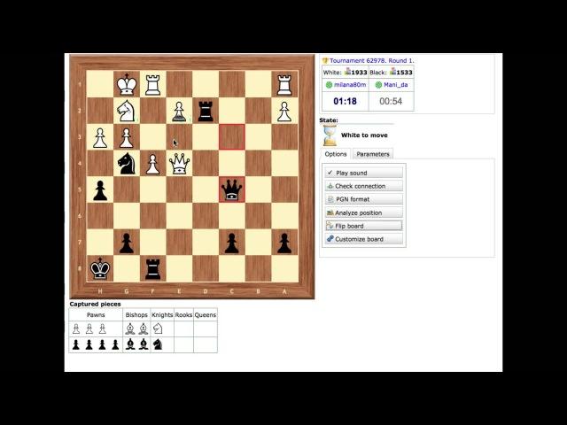 Турнир на ChessVegas 1 2 2013