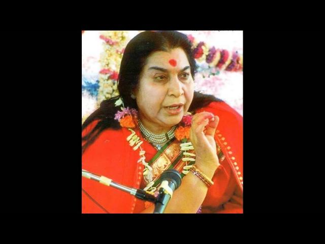 Шри Матаджи Нирмала Деви - лекция Шри Матаджи перед музыкальной программой 16.12.1998 г.