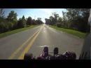 Карт с двигателем от Yamaha R1 / R1 Go Kart Passes a Cop
