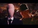 Фредди Крюгер VS Слендермен. Эпичная Рэп Битва!