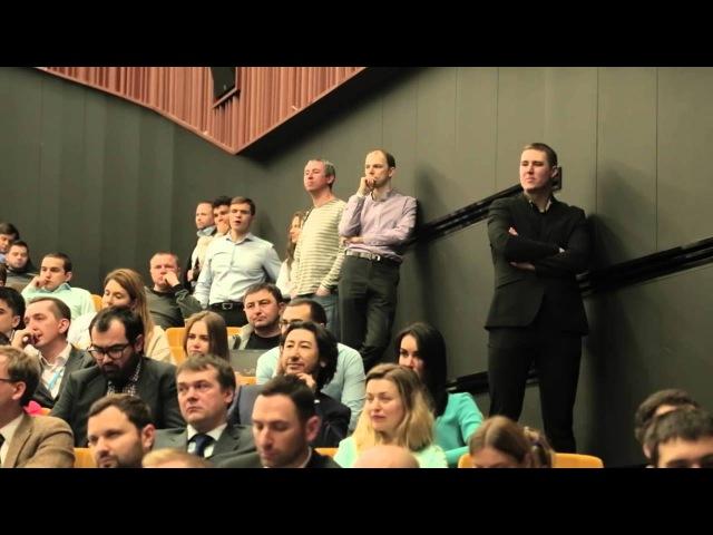 Speakers Nights с Сергеем Галицким в бизнес школе СКОЛКОВО