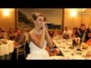 Невеста читает реп на свадьбе подарок жениху.Классно зачитала!