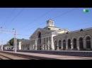 Вокзал Лозовая Харьковская обл практически без людей и поездов