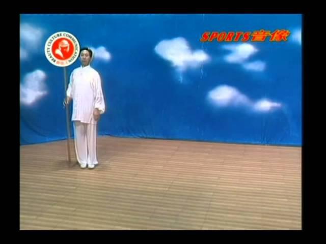 Di Guoyong Xingyi Five Element Staff Gun Instructional DVD