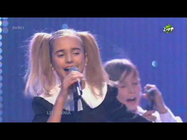 Junior Eurovision 2008 Eglė Jurgaitytė Laiminga Diena Lithuania