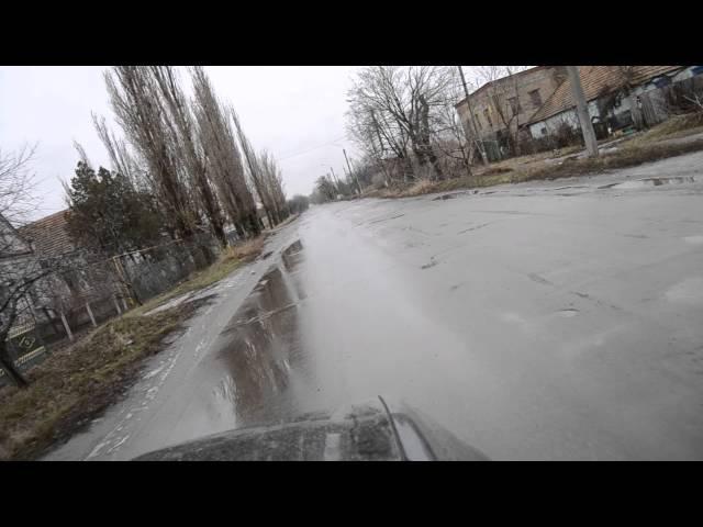 Запорожская обл Город Токмак, дороги просто шикарные!