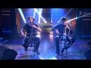 Вечерний Ургант. 2Cellos - Smooth Criminal 26.11.2014