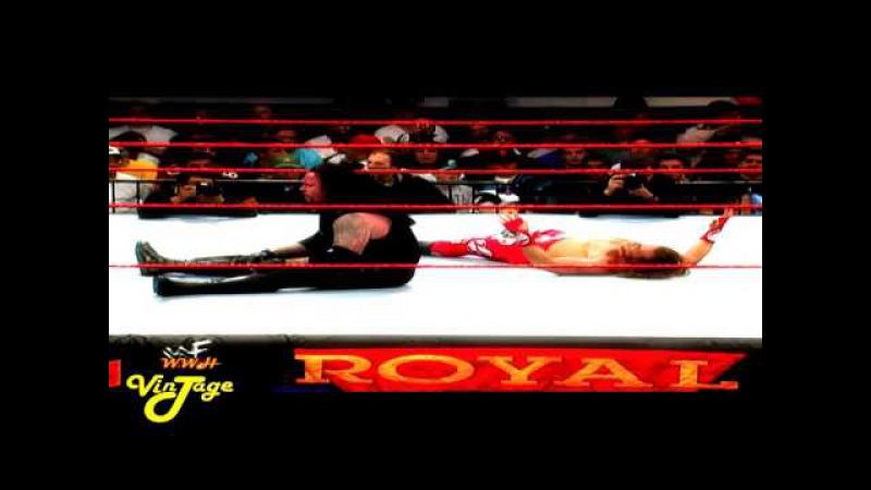 Shawn Michaels Vs The Undertaker Royal Rumble 1998 Casket Match Highlights