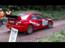 2013 Dukeries Rally WRC Launchs and Anti Lag @ Portland stage near Clipstone