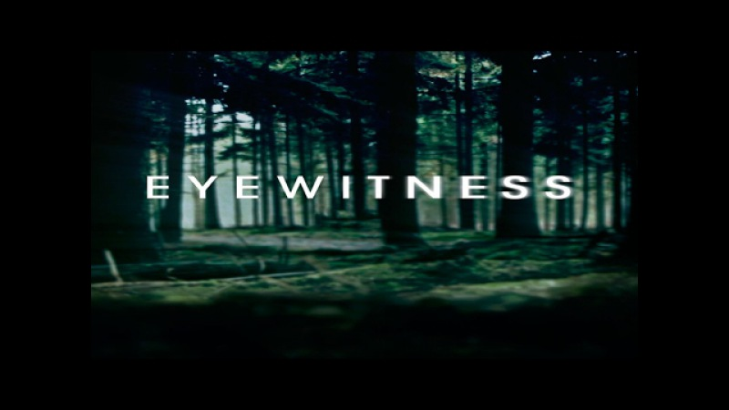 Свидетели\Очевидцы (Eyewitness) трейлер сериала.