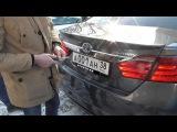 В Иркутске задержали водителя Toyota Camry с нецензурной надписью на регистрационном...