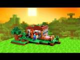 Lego Minecraft 21115 Первая ночь. Обзор конструктора Лего Майнкрафт на русском. Варлорд Лего видео