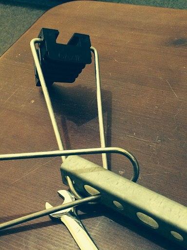 Натяжний зажим GAZIK для круглого самонесучого кабелю