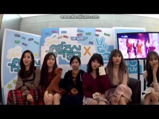 161119 T-ARA reaction @ Music Core