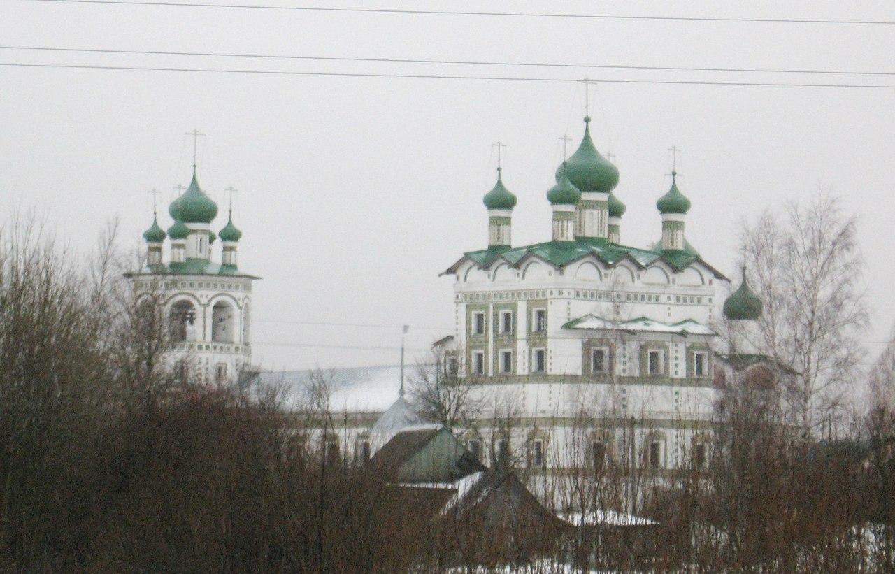 Николо-Вяжищский монастырь в Великом Новгороде