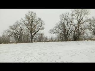 Такие тишина и покой, что слышно, как падает снег.