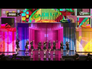 Twice - Cheer Up + TT @ 2016 MAMA Mnet Asian Music Awards 161202