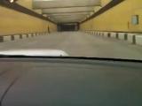 Субару влетает в пробку на 170-180 км/ч (Момент аварии)