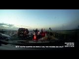 Подборка аварий на видеорегистратор, ДТП 2017 № 225 Car Crash Compilation Newon 2017