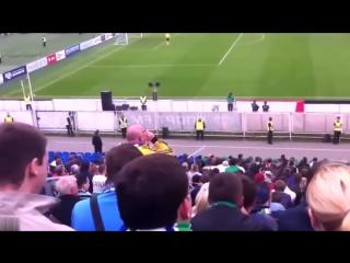 Крик российского болельщика