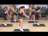 Cathe Friedrich - Party Rockin Step Workout 2 _ Кейт Фридрих - Степ-аэробика