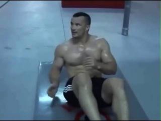 Мирко Крокоп и его бешеная тренировка