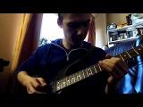 Guitar fusion lick