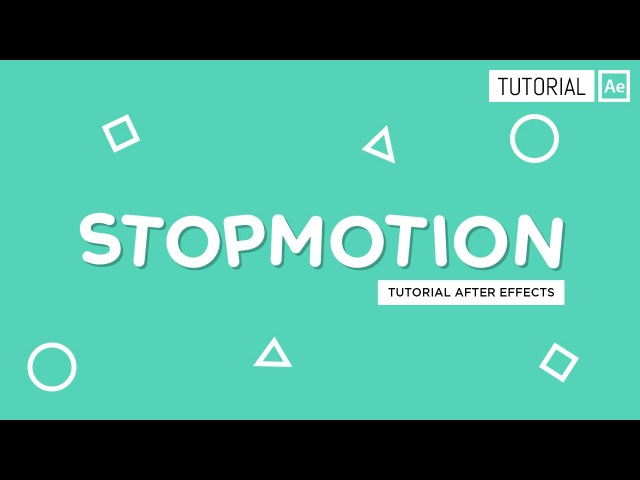Stopmotion - Tutorial After Effects [Español]