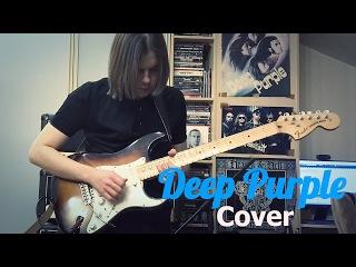 Deep Purple лучшее на электрогитаре (кавер) | Deep Purple cover electric guitar - Vladi Lunev