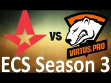 Virtus.pro G2A vs Astralis - Highlights - ECS Season 3 - Inferno