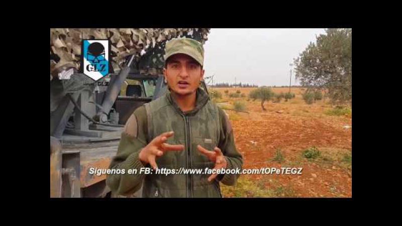 Siria - Alepo - Al-Nusra lanza Cientos de Misiles Grad Ucranianos contra la ciudad - 28 Octubre 2016
