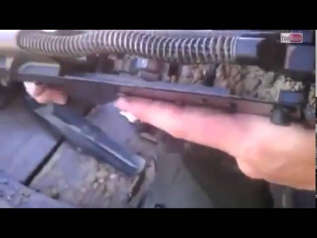 Жесткий краш тест АК-74.Американцы в шоке.