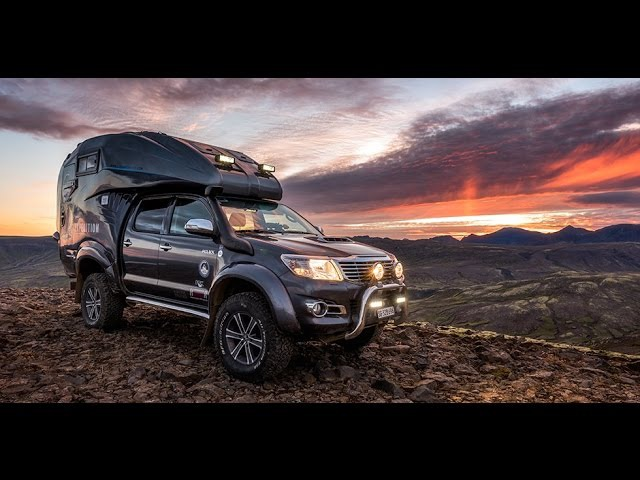 Iceland Offroad - Stefan Forsters Toyota Hilux Expedition