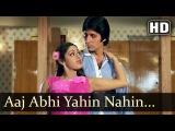 Aaj Abhi Yahi Nahi (HD) - Inquilaab Songs - Amitabh Bachchan - Sridevi - Kishore Kumar - Asha Bhosle