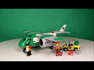 LEGO CITY - AIRPORT CARGO PLANE, 60101 / ЛЕГО СИТИ - ГРУЗОВОЙ САМОЛЕТ, 60101.