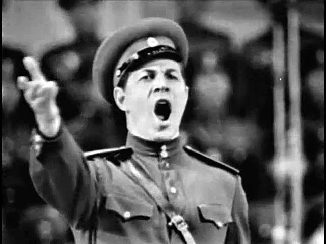 Song of the Volga Boatmen - Leonid Kharitonov The Red Army Choir (Live)