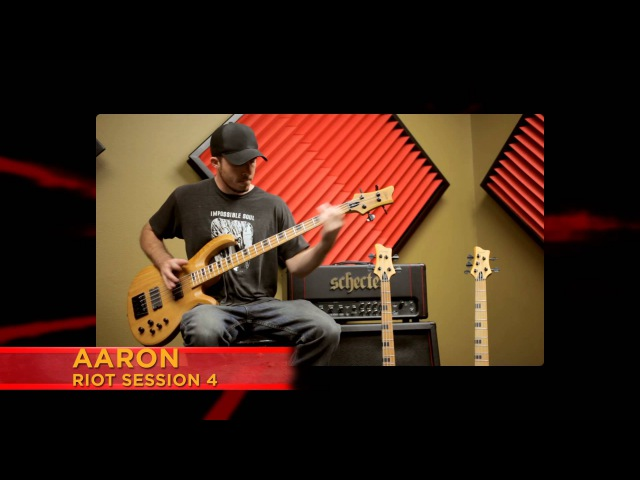 Schecter Official SESSION BASS: STILETTO AND RIOT Demo