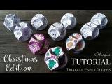 Hattifant - CHRISTMAS Triskele Paper Globe TUTORIAL