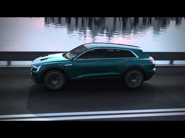 Электрический кроссовер Audi e tron quattro concept CES 2016 HD