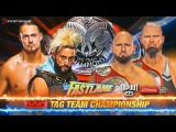 Enzo Amore &amp Big Cass VS Luke Gallows &amp Karl Anderson  Campeonatos de Pareja  WWE Fastlane 2017