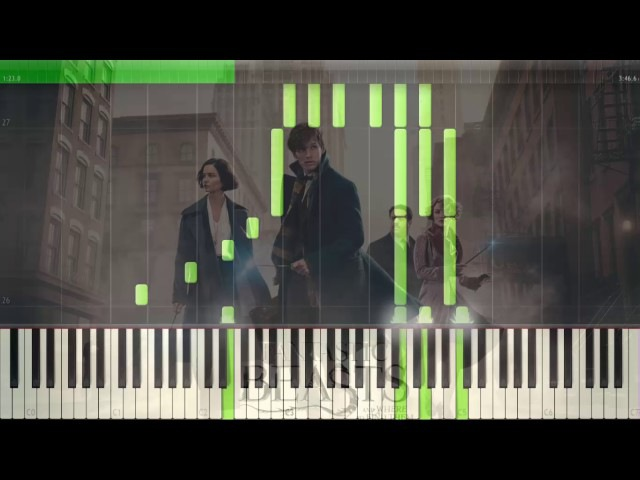 Fantastic Beast piano Newt says goodbye to Tina piano synthesia ( sheet music ) » Freewka.com - Смотреть онлайн в хорощем качестве