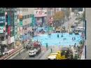 博多 道路陥没復旧工事を2分でまとめ Japanese road reopens one week after vast sinkhole appeared