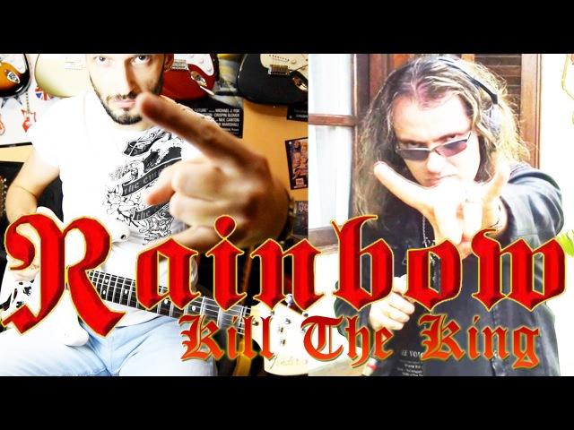Rainbow Kill the King guitar and vocal cover ft Lean Van Ranna
