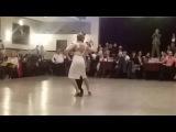 Rodriguez y Paola Tacchetti en La Baldosa - Arrabal - O. Pugliese