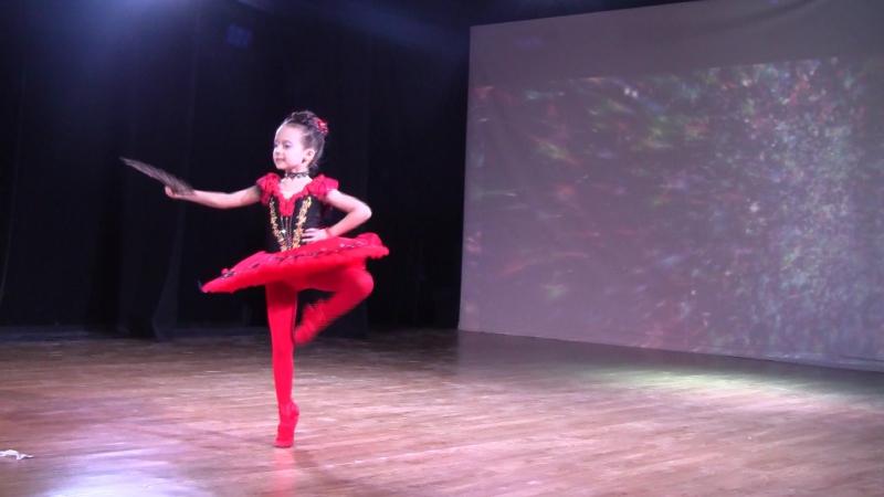 Алексова Мария 6 лет,Киев,1 место.Вариация Китри,Дон Кихот Киев,