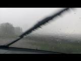 Storm Chasing по Черноземью - 2. 08.05.2017. Интенсивный ливень и шквал.